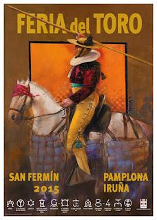 Cartel de la Feria del Toro de 2015