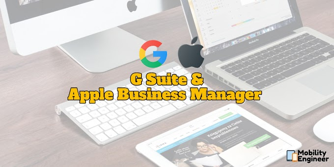 G Suite & Apple Business Manager