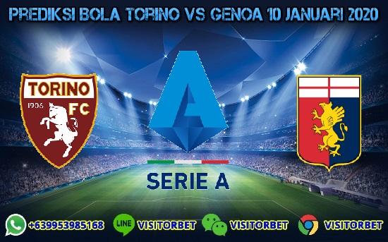 Prediksi Skor Torino vs Genoa 10 Januari 2020
