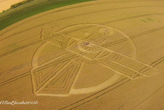Why so few arrests for Crop Circles makers? Is there microwave evidence?