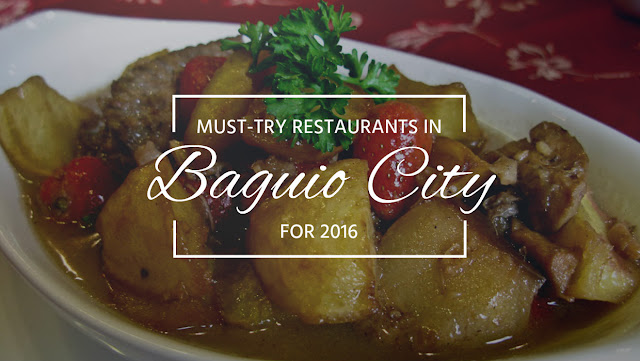 Must try restaurants in Baguio for 2016