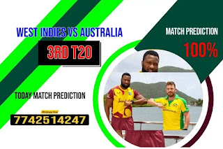 100% Sure 3rd T20 Match Wi vs Aus Who will win Today Astrology