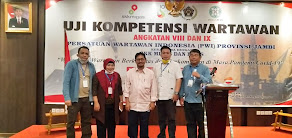 Penutupan UKW PWI Provinsi Jambi, Sayid Iskandarsyah: UKW Menunjukkan Kapasitas