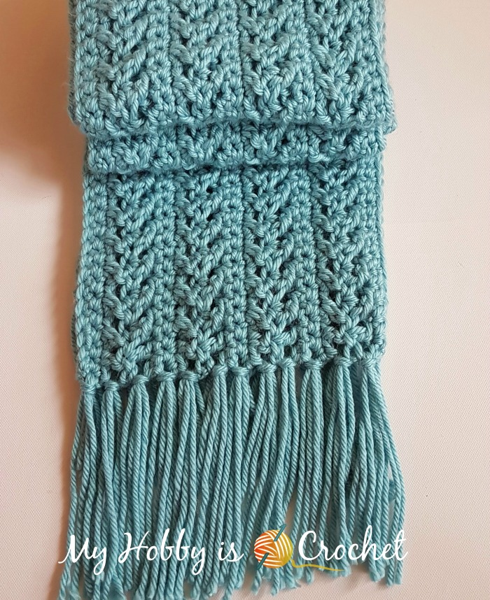 My Hobby Is Crochet Go With The Flow Super Scarf Free Crochet