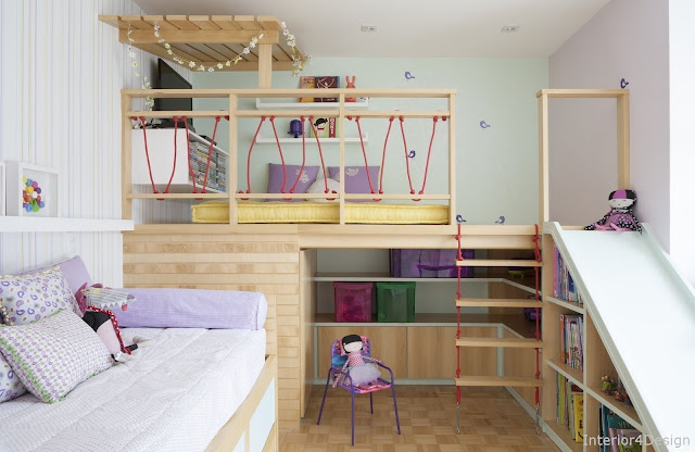 Children's Rooms: 65 Modern Ideas Of Decorated Environments With Photos