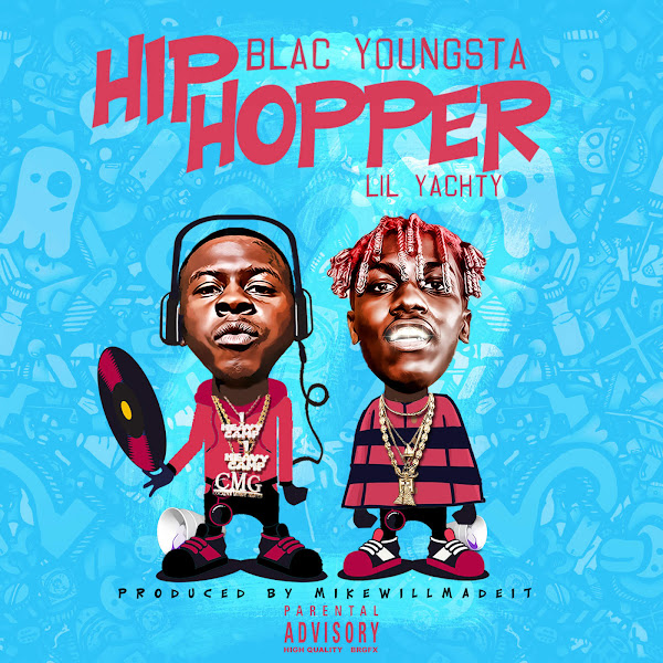 Blac Youngsta - Hip Hopper (feat. Lil Yachty) - Single Cover