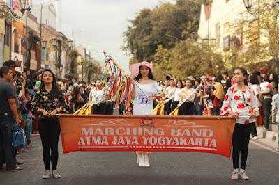 marching band mahasiswa / unika atma jaya yogyakarta / catatan adi
