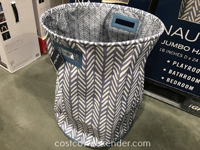 Store laundry to be washed in the Nautica Jumbo Hamper