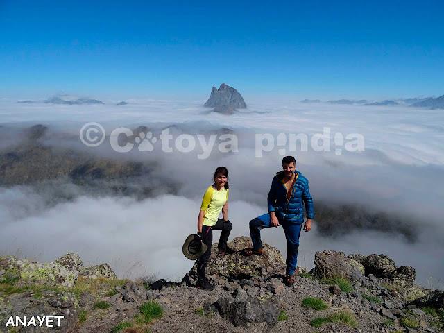 Ruta al Pico Anayet en circular. Rutas por los Pirineos