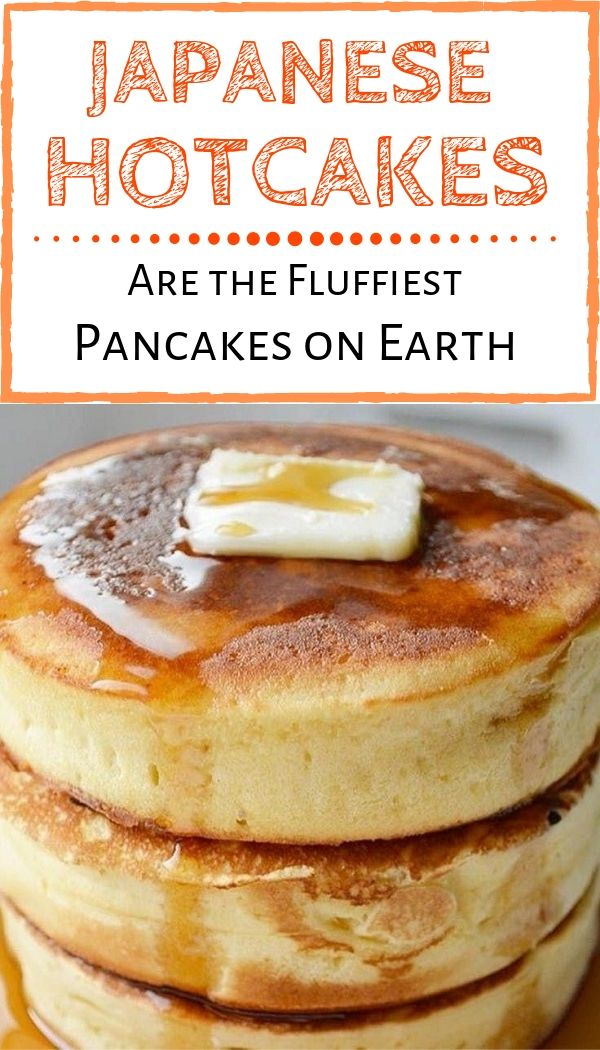 Japanese Hotcakes Are the Fluffiest Pancakes on Earth