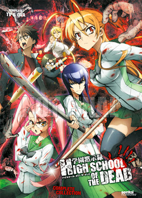 High School of the Dead 12/12 + Ova Sin Censura Mega