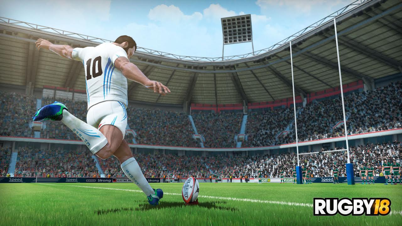 Rugby 18 llegará en octubre a PC, PS4 y ONE