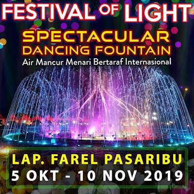 Hadir di Siantar, FESTIVAL OF LIGHT ROADSHOW !!!