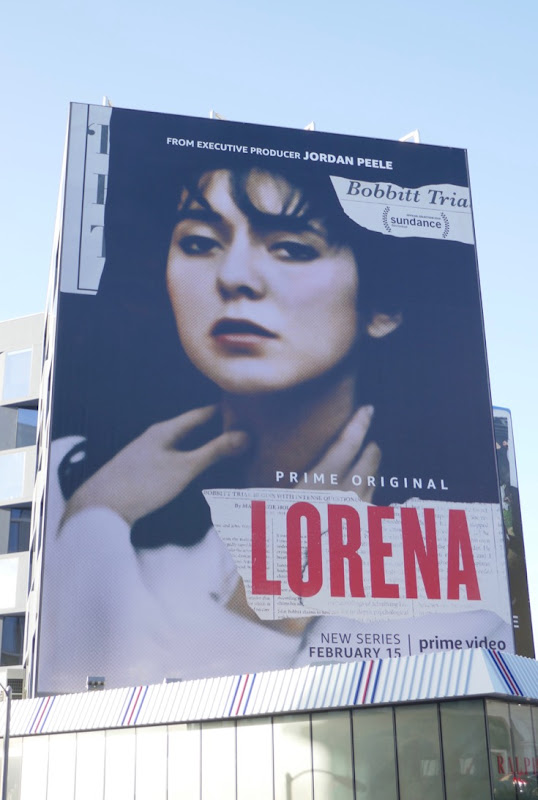 Giant Lorena series launch billboard
