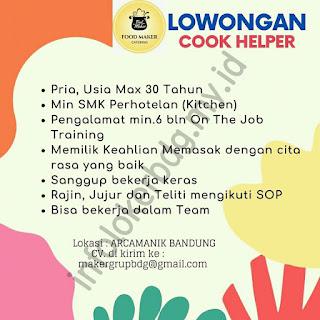 Lowongan Kerja Food Maker Catering Bandung