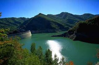 Invaso della diga di Ridracoli