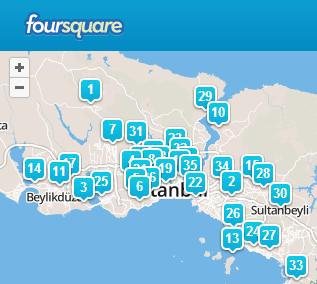 foursquare istanbul