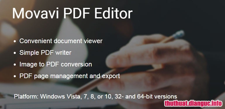 Download Movavi PDF Editor 1.7.1 Full Cr@ck