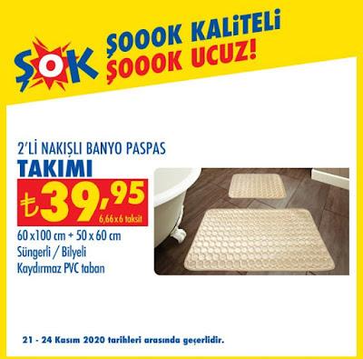 Banyo Paspas Takımı Fiyatı 39,95₺