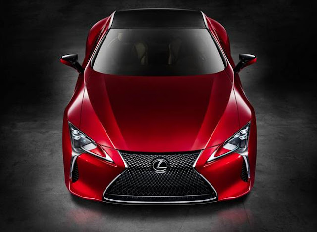 2017 Lexus LC 500 Review