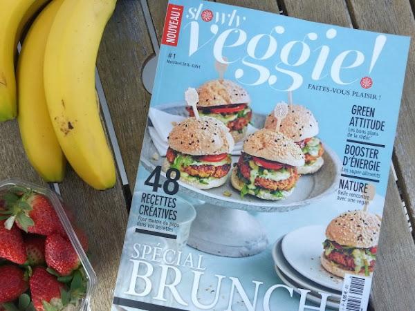 Le magazine Slowly Veggie, fait pour moi !