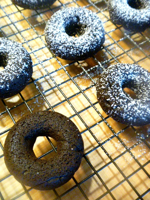 Wonderfully moist, these chocolatey decadent cake doughnuts can be made in about 30 minutes. Baked Chocolate Cake Doughnuts - Slice of Southern