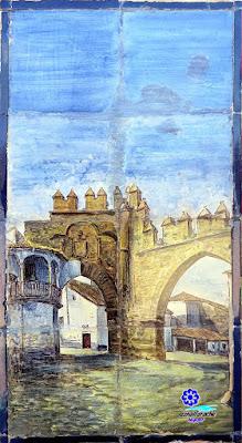 Sevilla - Plaza de España - Banco-azulejo de Jaén - Baeza