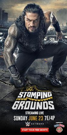 WWE Stomping Grounds Poster