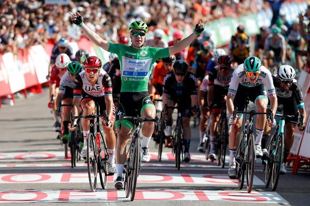 Fabio Jakobsen venceu 16ª etapa da Vuelta a España - Foto: Photo Gomez Sport / La Vuelta