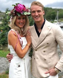 John Klingberg And His Girlfriend Fanny Hammarstrand