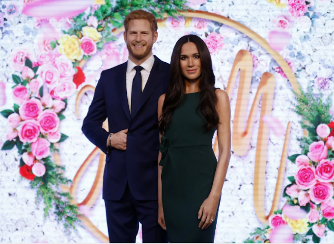 Prince Harry and Meghan Markle's wax figures officially removed from Madame Tussauds Royal Family display in London
