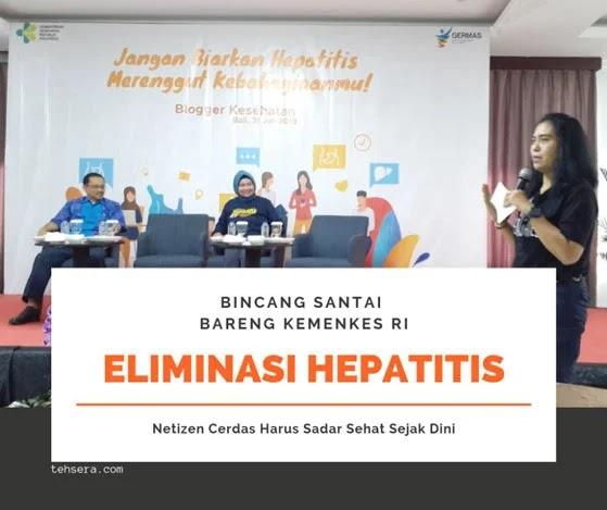 Eliminasi hepatitis bareng kemenkes-RI, netizen cerdas harus sadar sehat sejak dini