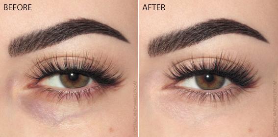 Make Up For Ever Matte Velvet Skin Concealer Swatches MUFE Before After