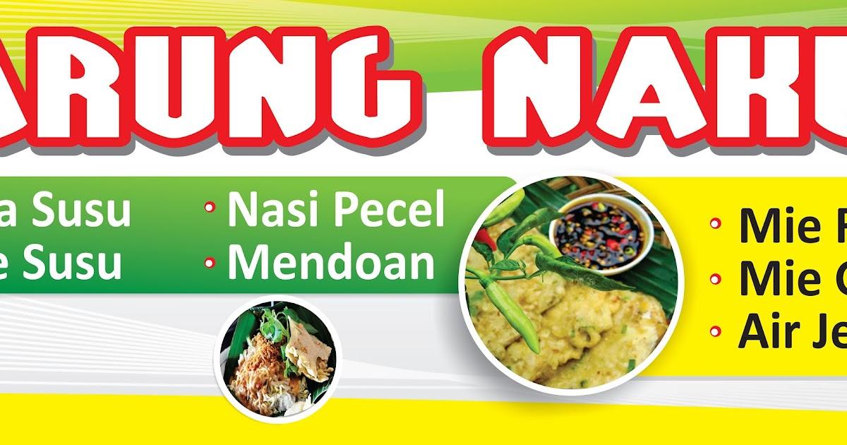Spanduk Warung Makan Nakula - Agen87