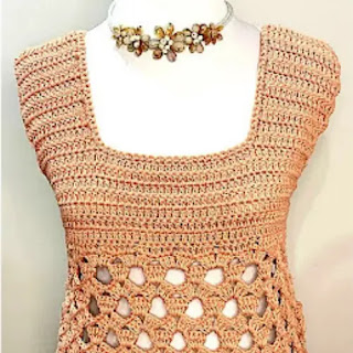 Blusa Acrobacia a Crochet