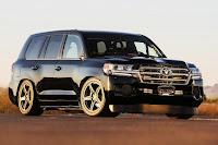 Toyota Land Speed Cruiser (2016) Front Side