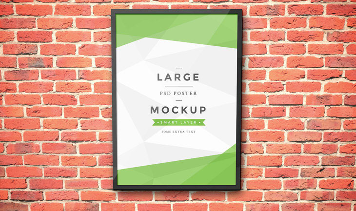 Artwork Frame PSD Mockup