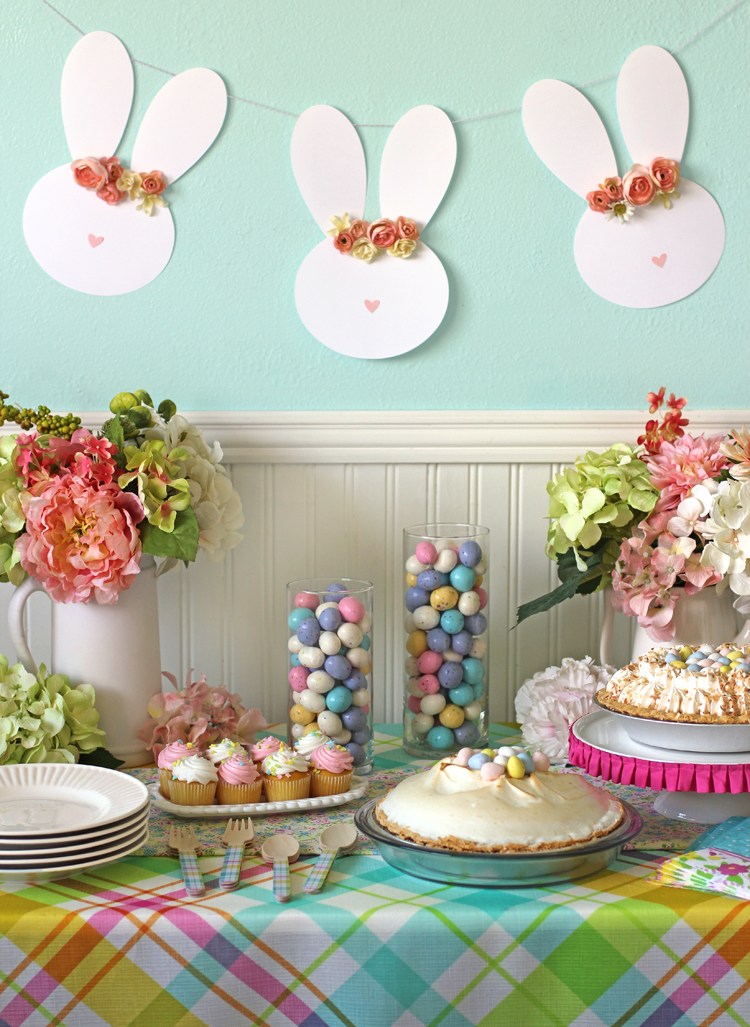 Easy Colorful Easter Decorating Ideas