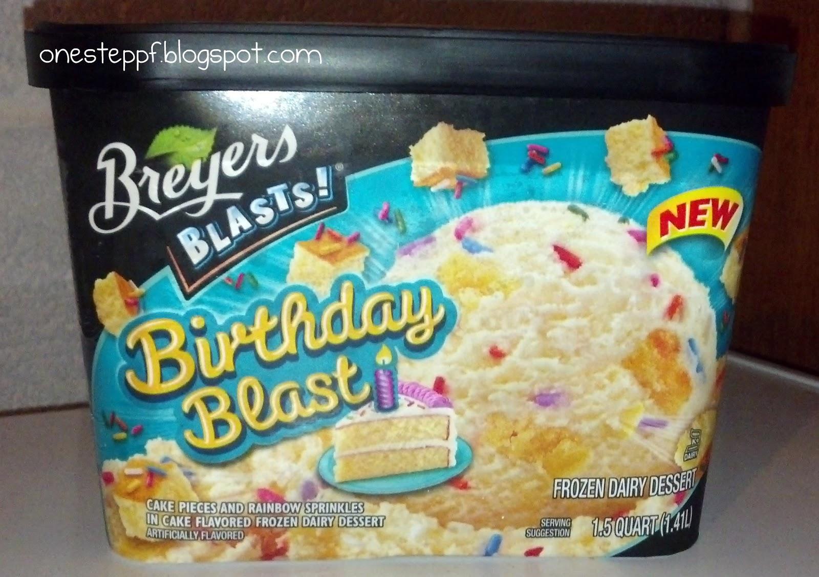 Breyers Birthday Cake Ice Cream