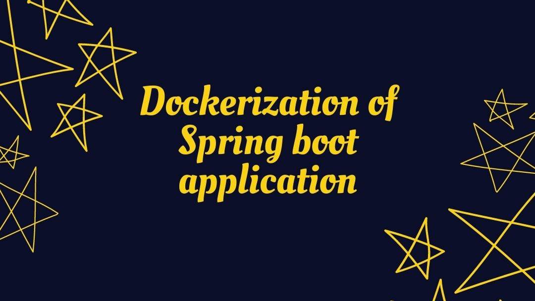 dockerizing spring boot application maven