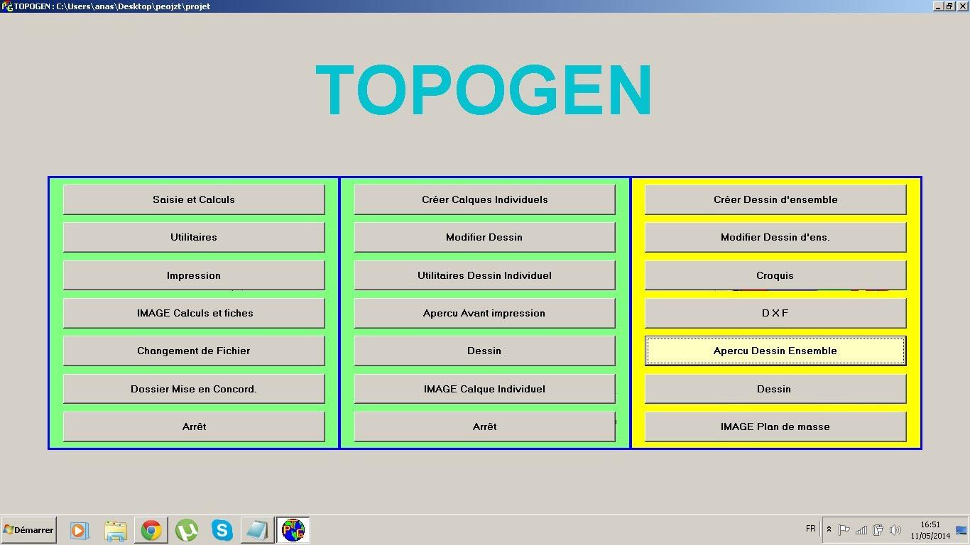 logiciel topogen gratuit