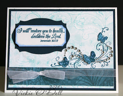 ODBD Get Well, Card Designer Vickie O'Dell