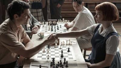 « Le Jeu de la dame », la géniale mini-série Netflix, a remis les échecs à la mode - Photo © Netflix