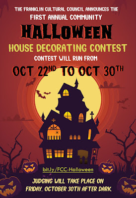 Franklin Cultural Council: Halloween House Decorating Contest