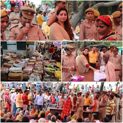 UP Police Welfare Association Helps Flood Affected People Deepika Mishra