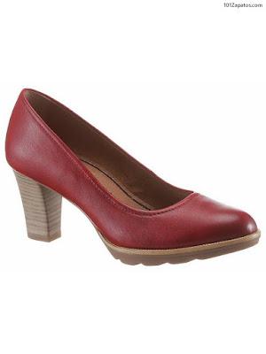 Zapatos de Mujer Rojos