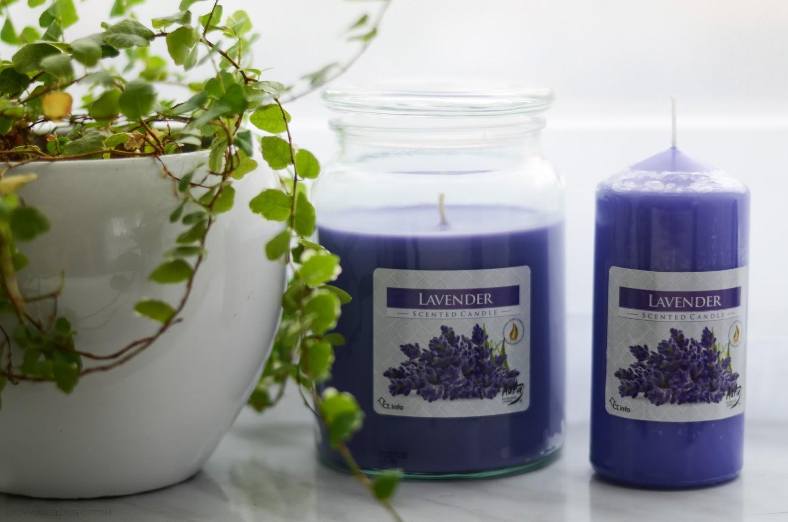 bispol, świece, świece zapachowe, lawenda, recenzja