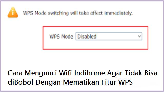 Cara Mengunci Wifi Indihome Agar Tidak Bisa Dibobol