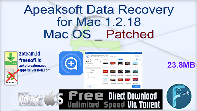 Apeaksoft Data Recovery for Mac 1.2.18 Mac OS _ Patched
