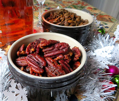 Spice Toasted Pecans